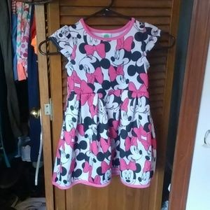 Minnie Mouse toddler dress
